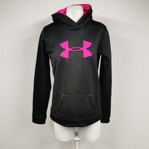 Under Armour Girls Sweater Hot Pink / Black